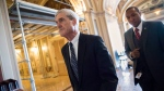 Special counsel Robert Mueller departs after a closed-door meeting with members of the Senate Judiciary Committee about Russian meddling in the election and possible connection to the Trump campaign, on Capitol Hill in Washington on June 21, 2017. (AP / J. Scott Applewhite)