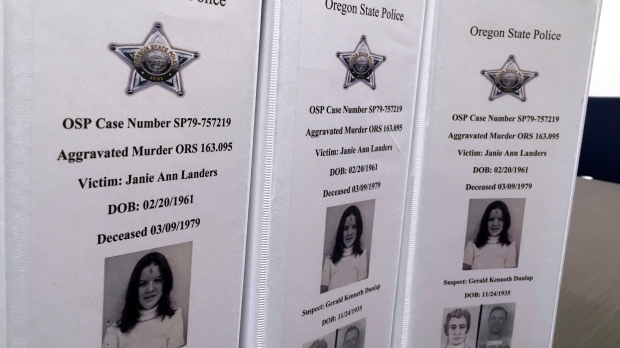 Oregon cold case solved