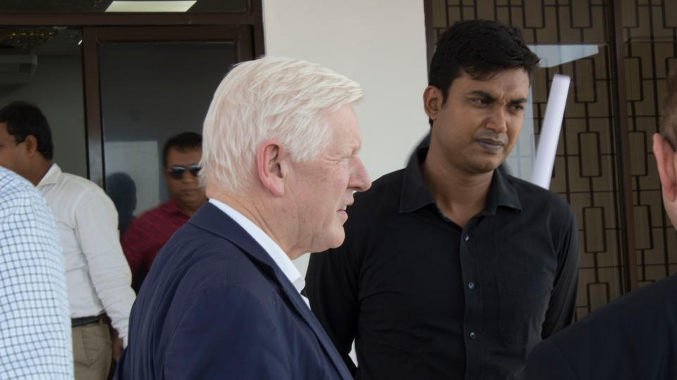 Bob Rae will tour the Balukhali refugee camp in Cox's Bazar, Bangladesh. (Daniele Hamamdjian)