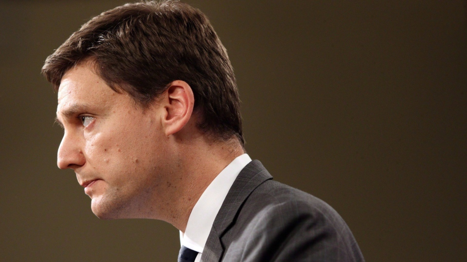 British Columbia's Attorney General David Eby speaks to media during a press conference at Legislature in Victoria, B.C., on September 18, 2017. (THE CANADIAN PRESS / Chad Hipolito)
