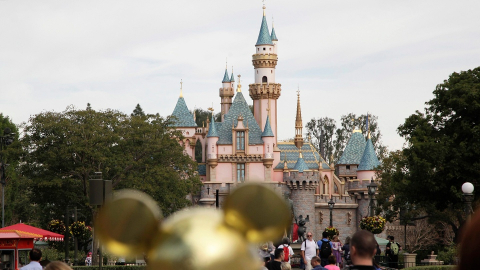 This Jan. 22, 2015 file photo shows Sleeping Beauty's Castle at the Disneyland theme park in Anaheim, Calif. (AP / Jae C. Hong, File)