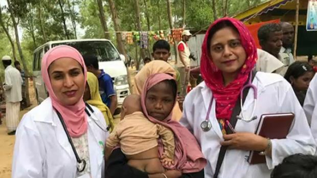 Calgary doctors - Bangladesh refugee camp