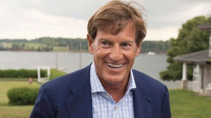 The Liberal Party of Canada's chief fundraiser, Stephen Bronfman, attends the party's caucus retreat in Georgetown, P.E.I. on Wednesday, Aug. 28, 2013. THE CANADIAN PRESS/Andrew Vaughan