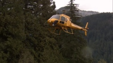 North Shore Rescue helicopter