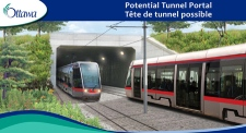 City officials unveiled plans to build a downtown tunnel and 13 kilometres of light rail tracks, Wednesday, April 28, 2009.