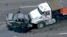Crash on Harmony Road in Oshawa