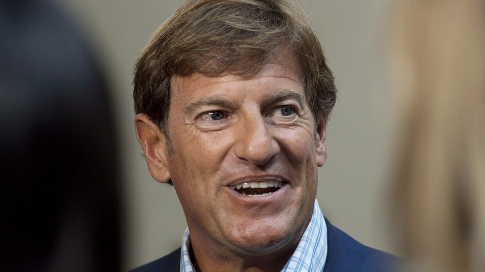 The Liberal Party of Canada's chief fundraiser, Stephen Bronfman, attends the party's caucus retreat in Georgetown, P.E.I. on Aug. 28, 2013. (Andrew Vaughan / THE CANADIAN PRESS)