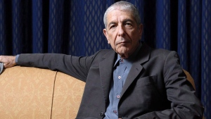 Leonard Cohen sits for a portrait, in Toronto on Saturday, February 4, 2006. THE CANADIAN PRESS/Aaron Harris