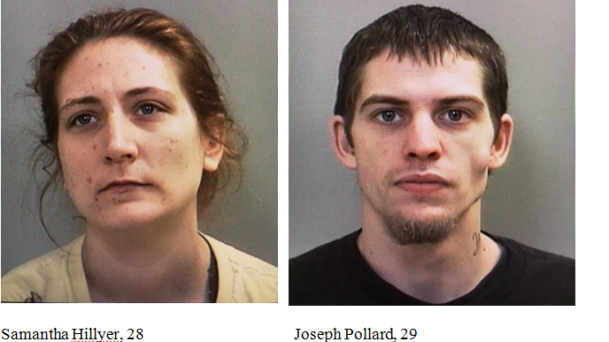 Samantha Hillyer and Joseph Pollard