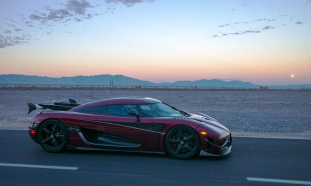 A Koenigsegg Agera RS in Nevada