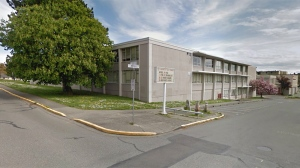Esquimalt High School is shown in this undated Google Maps image.
