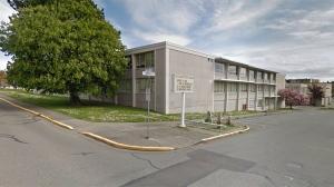 Esquimalt High School is shown in this undated Google Maps image.