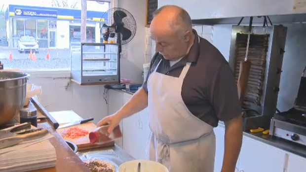 Nick Giannopoulos says he had to close his business for two months due to construction on St. Margaret's Bay Road