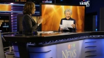 CTV News Chief Anchor and Senior Editor Lisa LaFlamme interviews Canadian music legend Anne Murray on Monday, Nov. 6, 2017. (CTVNews.ca / Raven Gordon)