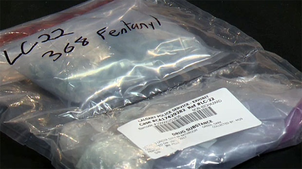 1,145 fentanyl pills were confiscated from a garage in the Evanston area last month.