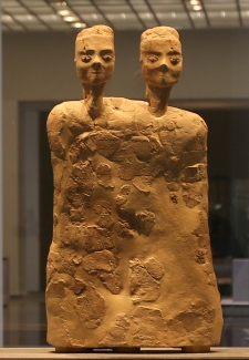 """""""Monumental Statue with two heads"""""""
