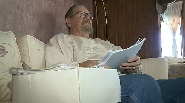 Rudy Prediger, a retired truck driver, is fighting to stay in the place he's called home for the past 47 years.
