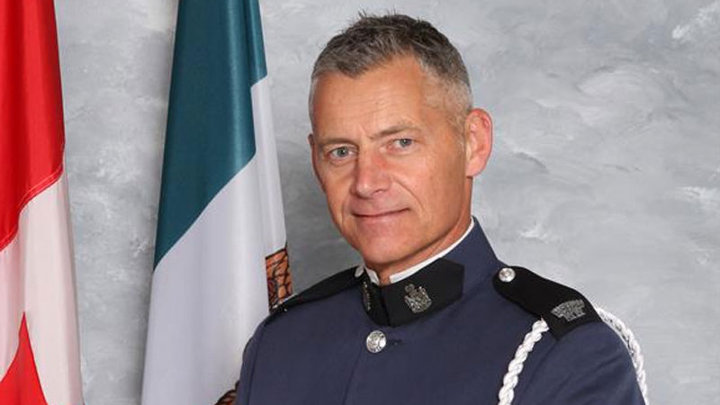 Const. John Davidson is shown in this image provided by the Abbotsford Police Department.