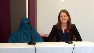 niqab, montreal
