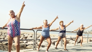 New research has found that older women who do more physical activity, and at higher intensities, could significantly reduce their risk of death. (© Alija/Istock.com)