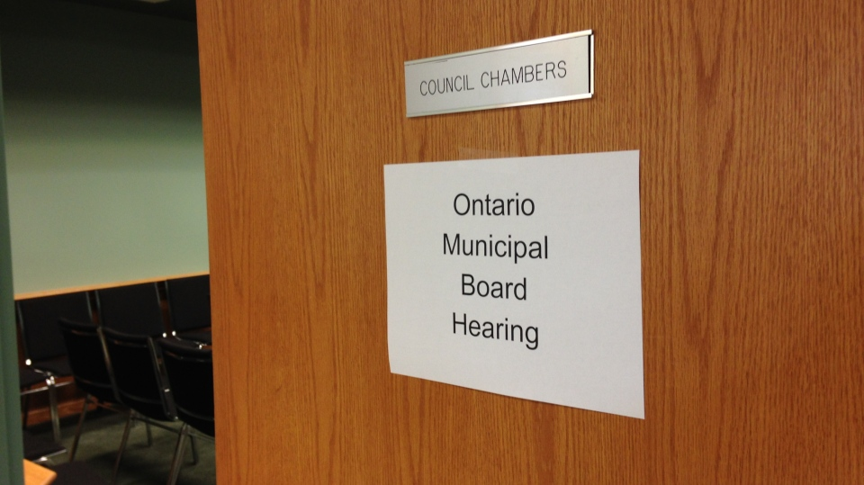 An Ontario Municipal Board meeting is being held in Adjala-Tosorontio, Ont. over the future of a proposed gravel pit. (K.C. Colby/ CTV Barrie)