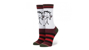 Rihanna has released new like of socks, SAUCY by Stance, ahead of the holiday season. (Courtesy of Stance)
