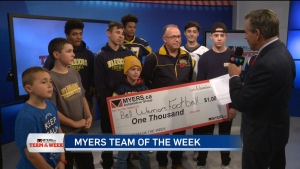 Myers Team of the Week: Bell Warriors Football Tea