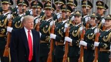 Trump in Beijing