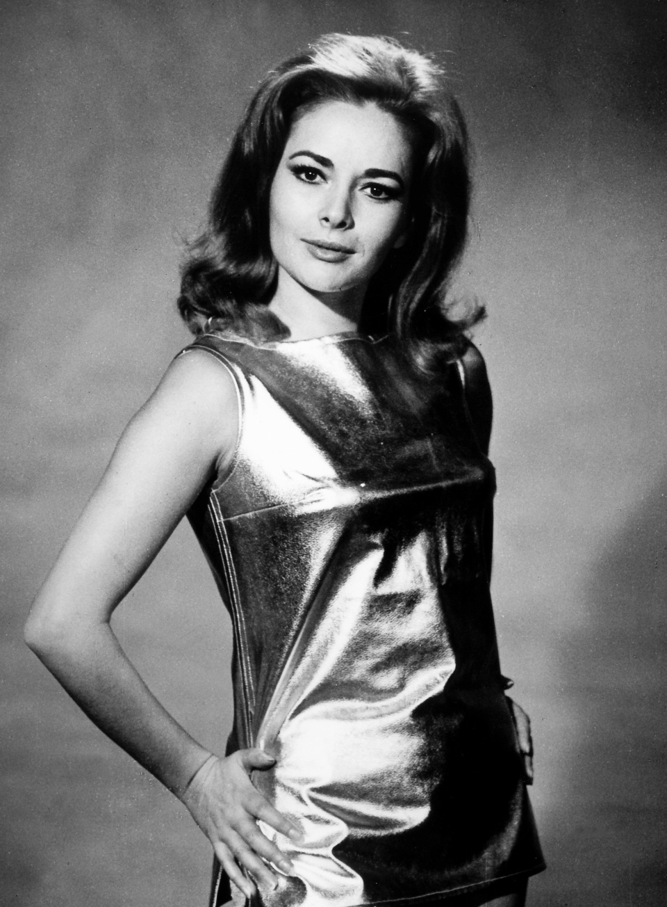 The April 1967 file photo shows actress Karin Dor. Dor, who played an assassin sent to kill James Bond in 1967 'You Only Live Twice' has died. She was 79. (dpa via AP)