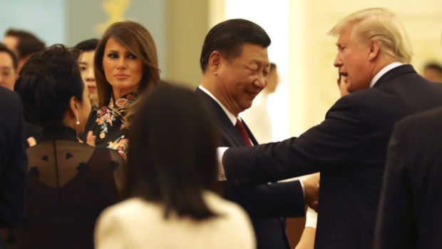 Trump talks with Jinping