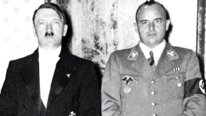 Growing up as the son of a key member of Adolf Hit