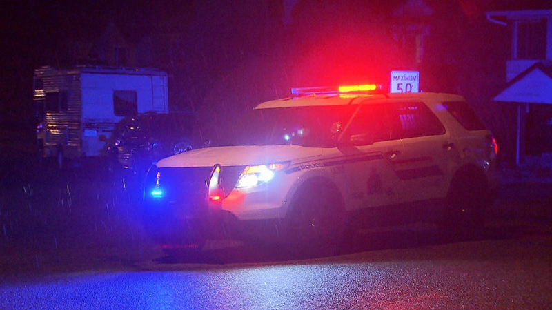 One person was injured in the incident near 266B Street and 29 Avenue in Aldergrove on Wednesday, Nov. 8, 2017.