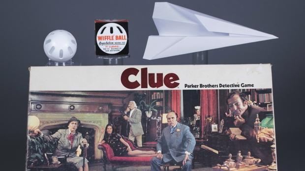 The Wiffle Ball, the paper airplane and Clue