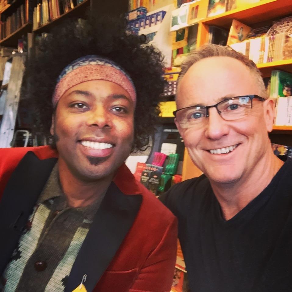 Alex Cuba and Kevin Newman