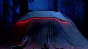 Teaser image of the 2018 Aston Martin Vantage (© Aston Martin Lagonda Ltd.)