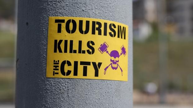 Anti-tourist protest