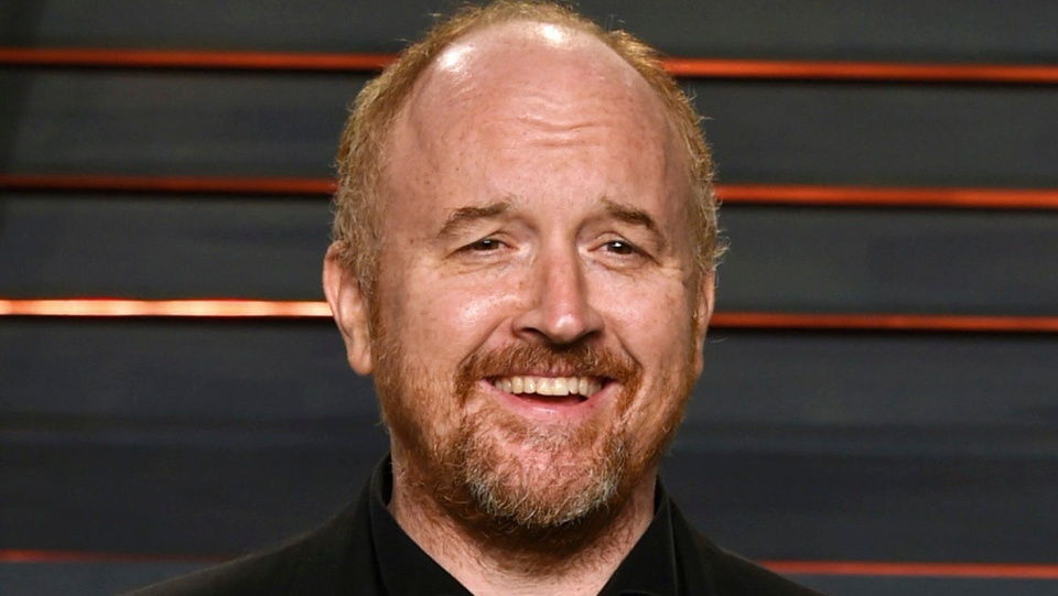 In this Feb. 28, 2016 file photo, Louis C.K. arrives at the Vanity Fair Oscar Party in Beverly Hills, Calif. (Evan Agostini/Invision/AP, File)