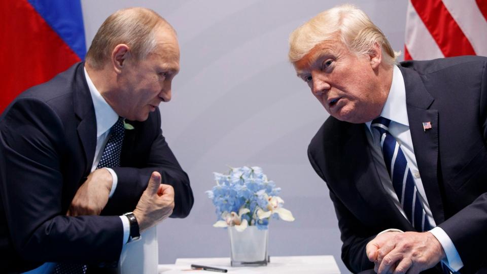 Trump and Putin at the G20