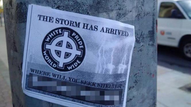 stormfront white supremacist poster
