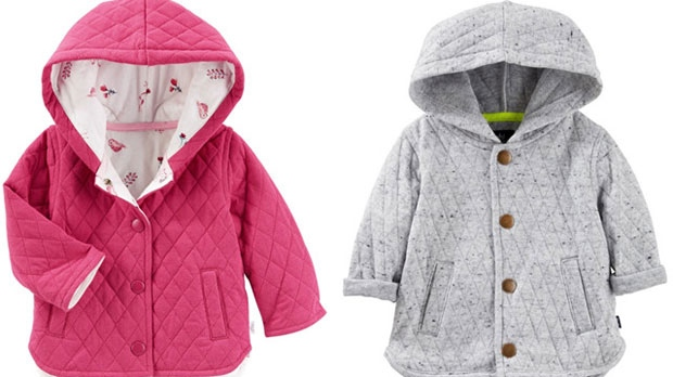 baby b'gosh, jacket recall, Canada, U.S.
