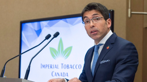 Jorge Araya, president and CEO of Imperial Tobacco