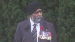 Minister of National Defence Harjit Sajjan