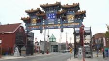 Chinatown Arch in Ottawa