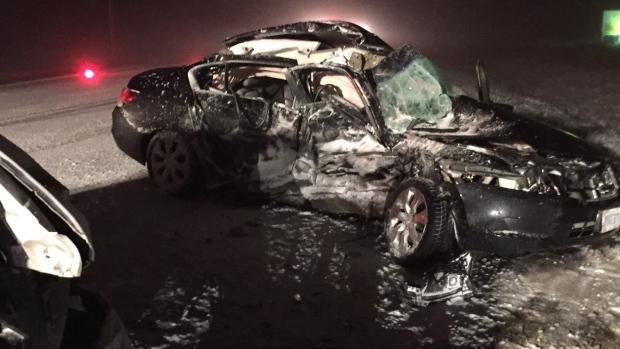 Wellington Road 109 crash
