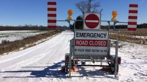 Eight Mile Road Fatal crash