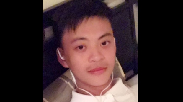 "Ke ""Jaden"" Xu is shown in a handout image from Toronto police."