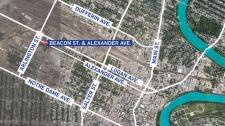 Alexander Avenue and Beacon Street.