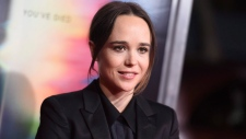 "Ellen Page arrives at the world premiere of ""Flatliners"" at The Theatre at Ace Hotel on Wednesday, Sept. 27, 2017, in Los Angeles. (THE CANADIAN PRESS/Invision/AP)"