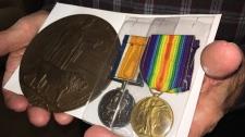 medals, Passchendaele, Haber, McKinnon