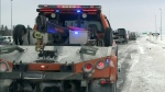 Tow-truck drivers welcome blue lights